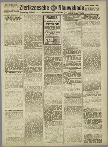 Zierikzeesche Nieuwsbode 1922-03-08