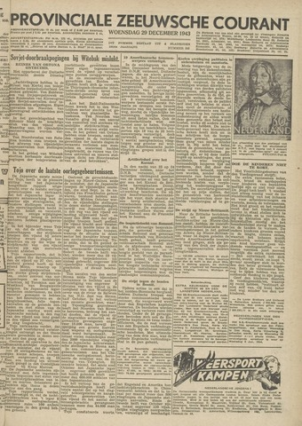 Provinciale Zeeuwse Courant 1943-12-29