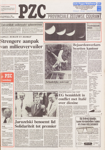 Provinciale Zeeuwse Courant 1989-08-18