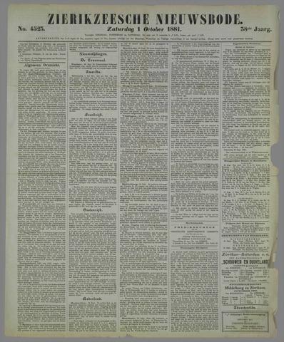 Zierikzeesche Nieuwsbode 1881-10-01
