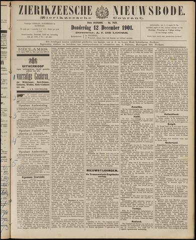 Zierikzeesche Nieuwsbode 1901-12-12