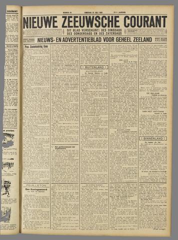 Nieuwe Zeeuwsche Courant 1931-07-21