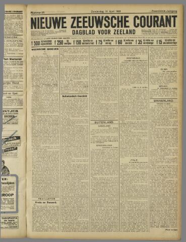 Nieuwe Zeeuwsche Courant 1921-04-14