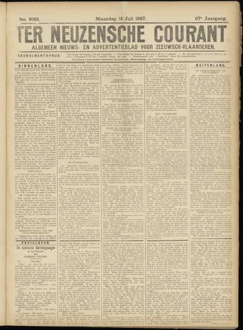 Ter Neuzensche Courant. Algemeen Nieuws- en Advertentieblad voor Zeeuwsch-Vlaanderen / Neuzensche Courant ... (idem) / (Algemeen) nieuws en advertentieblad voor Zeeuwsch-Vlaanderen 1927-07-18