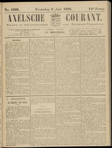 Axelsche Courant 1898-06-08