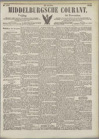 Middelburgsche Courant 1899-11-24