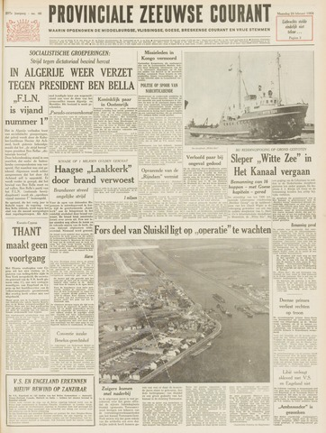 Provinciale Zeeuwse Courant 1964-02-24