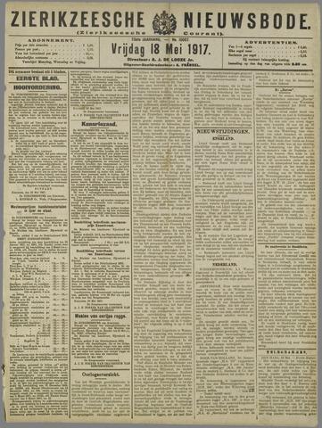 Zierikzeesche Nieuwsbode 1917-05-18