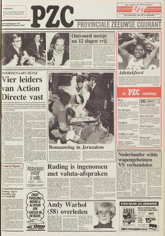 Provinciale Zeeuwse Courant 1987-02-23