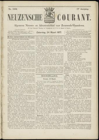 Ter Neuzensche Courant. Algemeen Nieuws- en Advertentieblad voor Zeeuwsch-Vlaanderen / Neuzensche Courant ... (idem) / (Algemeen) nieuws en advertentieblad voor Zeeuwsch-Vlaanderen 1877-03-24