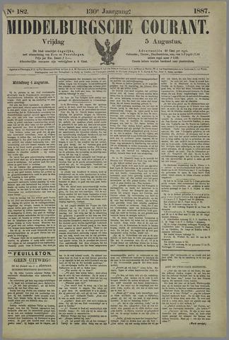 Middelburgsche Courant 1887-08-05