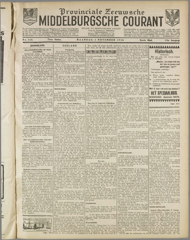 Middelburgsche Courant 1930-11-03