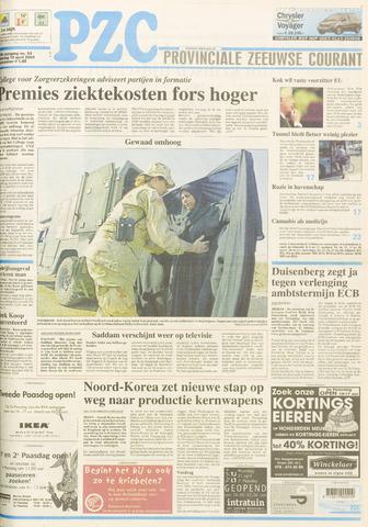 Provinciale Zeeuwse Courant 2003-04-19