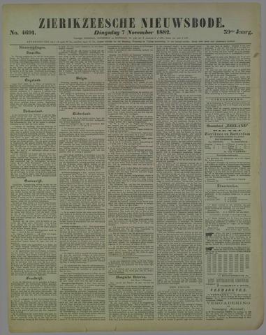 Zierikzeesche Nieuwsbode 1882-11-07