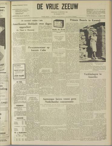 de Vrije Zeeuw 1962-10-31
