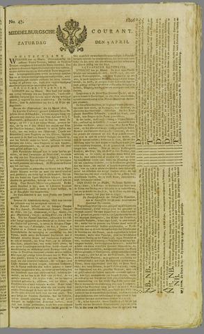 Middelburgsche Courant 1806-04-05