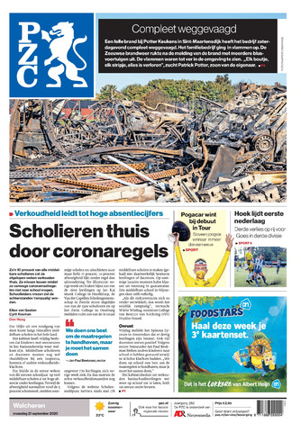 Provinciale Zeeuwse Courant 2020-09-21
