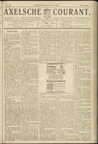 Axelsche Courant 1926-07-16