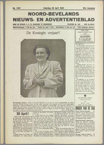 Noord-Bevelands Nieuws- en advertentieblad 1949-04-30