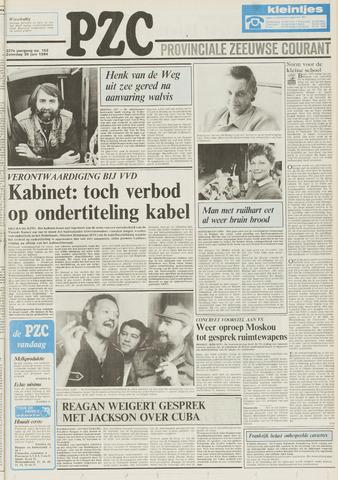 Provinciale Zeeuwse Courant 1984-06-30