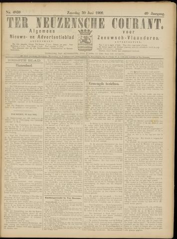 Ter Neuzensche Courant. Algemeen Nieuws- en Advertentieblad voor Zeeuwsch-Vlaanderen / Neuzensche Courant ... (idem) / (Algemeen) nieuws en advertentieblad voor Zeeuwsch-Vlaanderen 1906-06-30