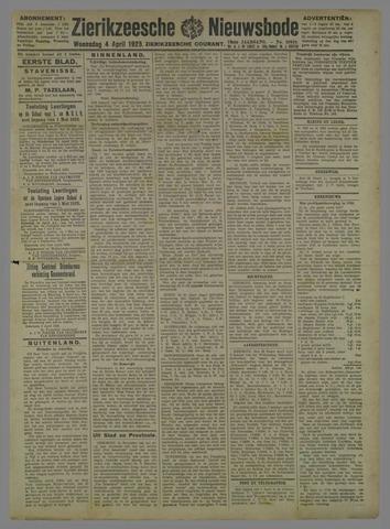 Zierikzeesche Nieuwsbode 1923-04-04