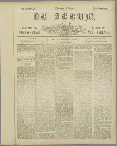 De Zeeuw. Christelijk-historisch nieuwsblad voor Zeeland 1902-03-11