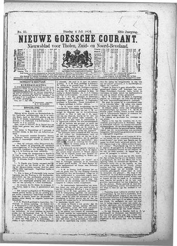 Nieuwe Goessche Courant 1876-07-04