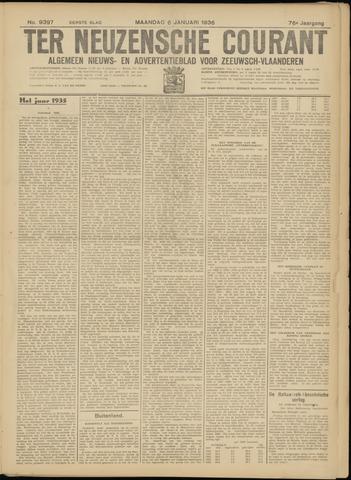 Ter Neuzensche Courant. Algemeen Nieuws- en Advertentieblad voor Zeeuwsch-Vlaanderen / Neuzensche Courant ... (idem) / (Algemeen) nieuws en advertentieblad voor Zeeuwsch-Vlaanderen 1936-01-06