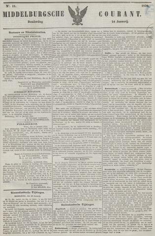 Middelburgsche Courant 1850-01-24