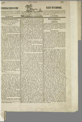 Zierikzeesche Nieuwsbode 1846