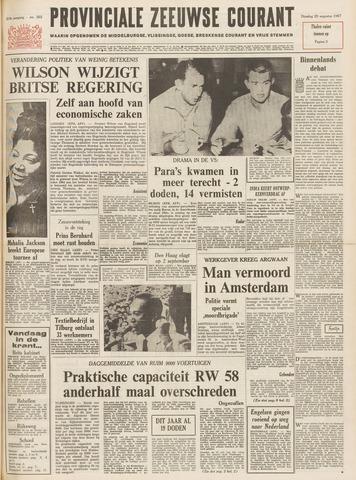 Provinciale Zeeuwse Courant 1967-08-29
