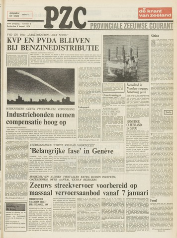 Provinciale Zeeuwse Courant 1974-01-03