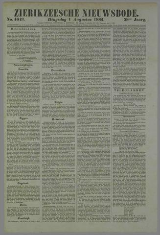Zierikzeesche Nieuwsbode 1882-08-01