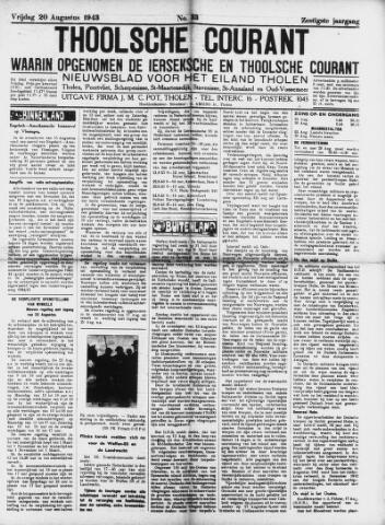 Ierseksche en Thoolsche Courant 1943-08-20