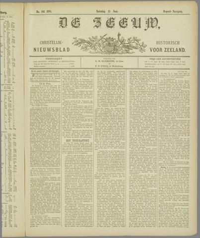 De Zeeuw. Christelijk-historisch nieuwsblad voor Zeeland 1895-06-15