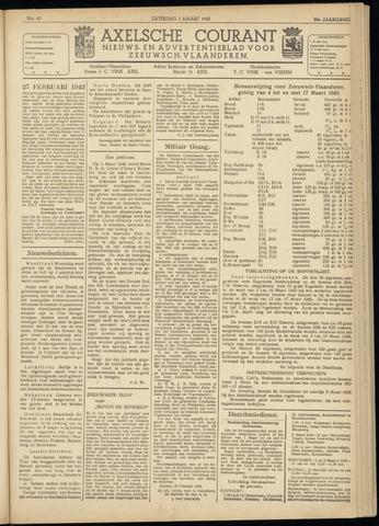 Axelsche Courant 1945-03-02