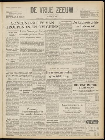 de Vrije Zeeuw 1952-02-26