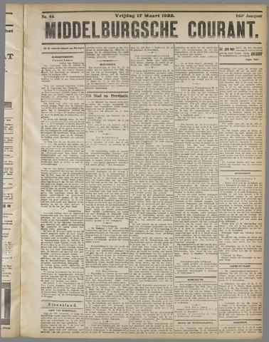 Middelburgsche Courant 1922-03-17