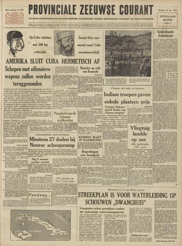 Provinciale Zeeuwse Courant 1962-10-23