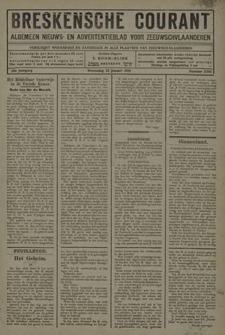 Breskensche Courant 1919-01-22
