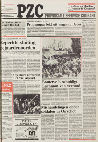 Provinciale Zeeuwse Courant 1987-11-24