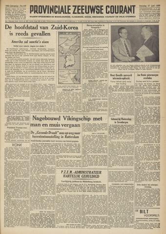 Provinciale Zeeuwse Courant 1950-06-27