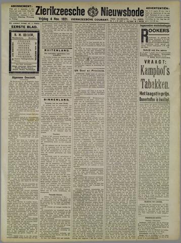 Zierikzeesche Nieuwsbode 1921-11-04