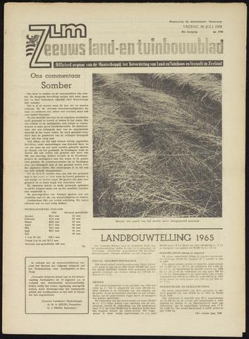 Zeeuwsch landbouwblad ... ZLM land- en tuinbouwblad 1965-07-30