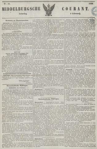 Middelburgsche Courant 1850-02-09