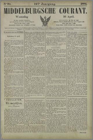 Middelburgsche Courant 1884-04-16