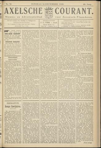 Axelsche Courant 1926-12-14