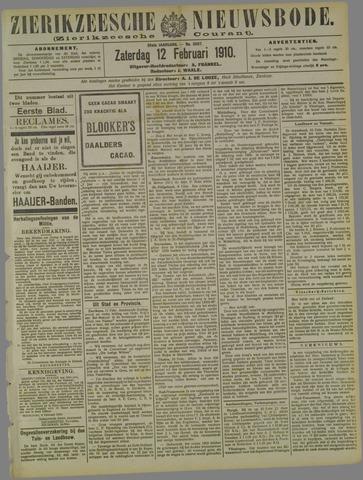 Zierikzeesche Nieuwsbode 1910-02-12