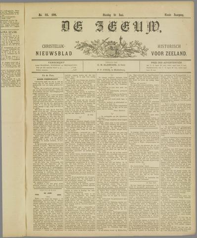 De Zeeuw. Christelijk-historisch nieuwsblad voor Zeeland 1896-06-30